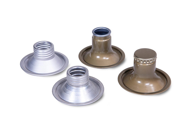 Accessori di chiusura in alluminio