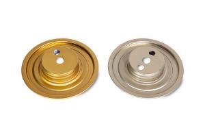 Cupole filettate in alluminio