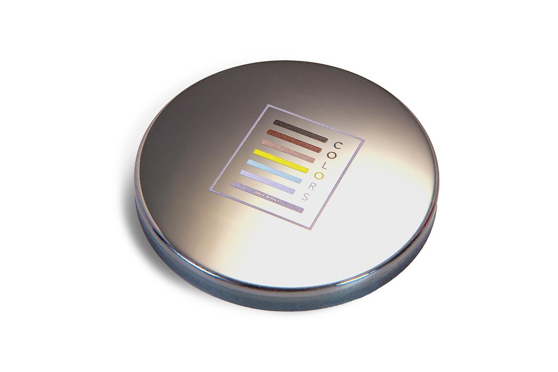 coperchi candele alluminio personalizzati